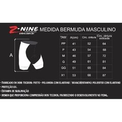 Bermuda Inviting Z-nine Masculina - Forro De Gel - Ponto da Bike Shop | loja online | Lajeado-RS