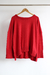 SWEATER ROJO OVERSIZE