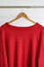SWEATER ROJO OVERSIZE - PANORAMA