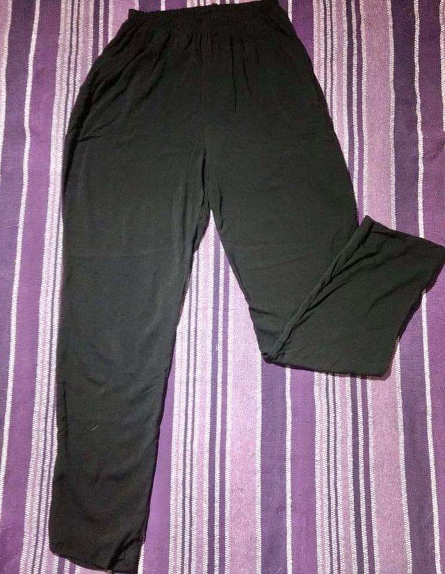 Pantalon Bahiano Fibrana Talle 3 4 7 8 Negro Verde Militar Invierno