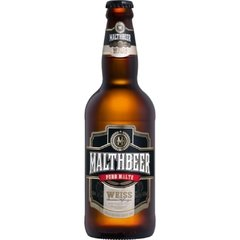 Cerveja tipo Weiss Malthbeer 500 ml
