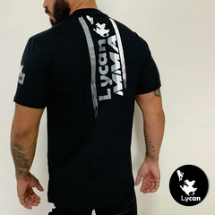 T-Shirt Lycan Black Team MMA na internet