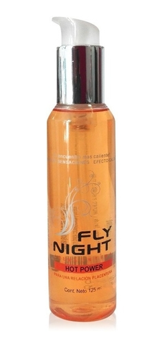 Gel Lubricante Intimo Fly Night Hot Power 125ml - comprar online