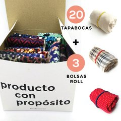 KIT TAPABOCAS + BOLSAS ROLL