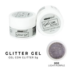 Gel Con Gliter Cherimoya 5g 02 LIGHT PURPLE  -CH016