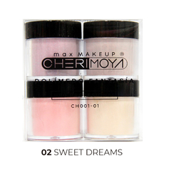 Set X4 Polímero De Color Y Gliter 8g #02 Sweet Dreams  CH001-01