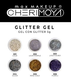 Gel Con Gliter Cherimoya 5g 02 LIGHT PURPLE  -CH016 - comprar online