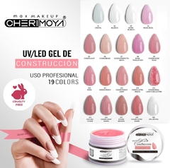Gel de Construcción 15ml #013 Cover Ultra Peach Uv/Led  -CH007 - comprar online