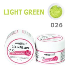 04Gel Plastilina #026 Light Green 5g Cherimoya Uv/led  CH017