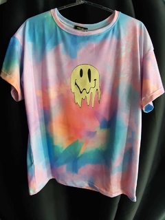 Tee Melted Smile Tie-Dye
