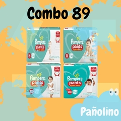 Combo 89 Pampers Pants Confort Sec