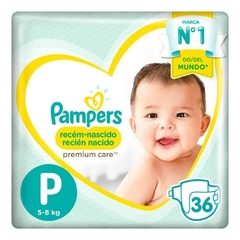 Pampers Premium Care P x 36 unidades