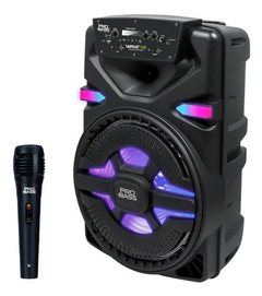 Bafle Portátil Pro Bass Wave-12 Bluetooth/Mp3/Micrófono