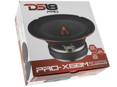 "Woofer DS18 PRO-X6BM 6"" Pulgadas Medio 250w Rms Simple Bobina"