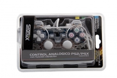 GAME PAD ANALOGICO PC USB TRANSPARENTE