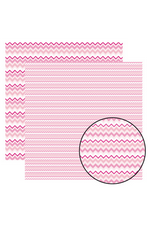 Multitons Chevron Rosa 30,5 X 30,5cm