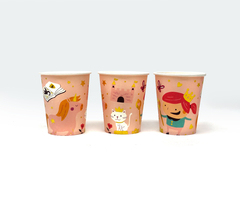 PACK 10 VASOS DESCART. PRINCESAS en internet