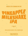 Pinapple Milkshake IPA  - Okcidenta - 1 LITRO - Botella descartable