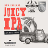 Juicy Neipa - Tropel - 1 LITRO - Botella descartable