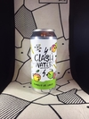 Hard Seltzer Pomelo y Limas -  Clash Water  - Lata 473 ml