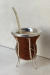 Mate Carpincho con base de alambre
