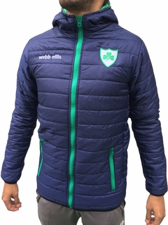 Campera inflable azul club Hurling
