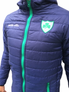Campera inflable azul club Hurling - Mistica