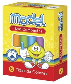 TIZA MODEL COLOR  X  12 UNIDADES