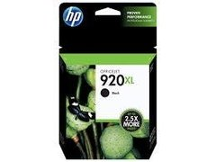 HP 920XL, BLACK, INK CARTRIDGE