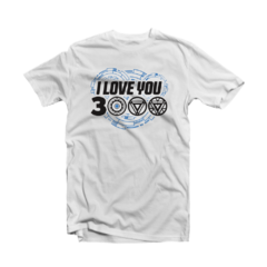 Camiseta I love You 3000 - comprar online
