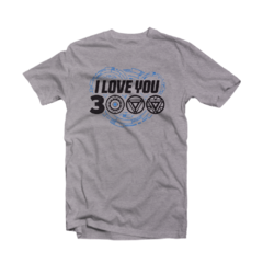 Camiseta I love You 3000 na internet
