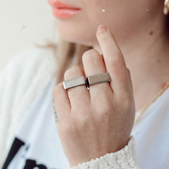 Signet Ring Solid Silver na internet