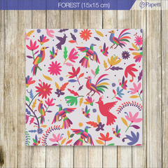 Papel Estampado - Forest - 15x15 en 90g