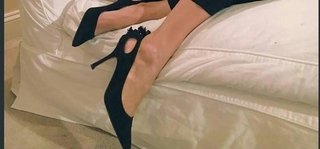Stiletto Abril negro
