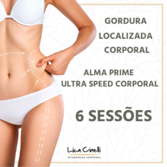 6 SESSÕES DE ALMA PRIME ULTRA SPEED CORPORAL