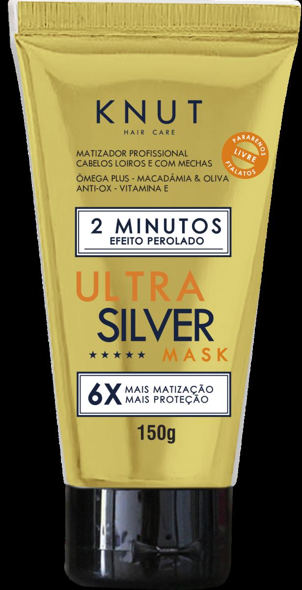Mascara Knut Silver Ultra Perolado 150g Sand Hair