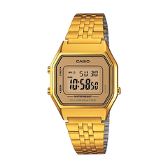 Casio Vintage Gold Digital