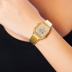 Casio Vintage Gold Digital - comprar online