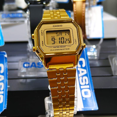 Casio Vintage Gold Digital en internet