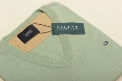 Sweater Escote V Algodón(+24 Colores) (PVA0001) - Vicent