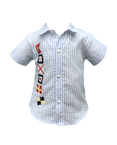 Camisa de cloque-Art.930