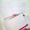 Kit Blocos: Planner mensal e To do list - Cores