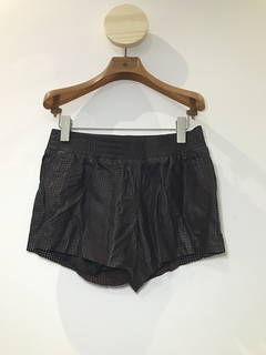 Shorts Talie NK couro