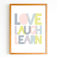 Love Laught Learn