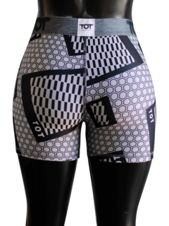 Short Panal Gris Fitness en internet