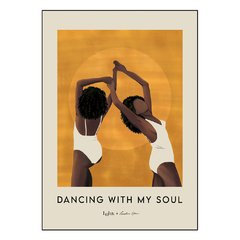 POSTER DANCING WITH MY SOUL AMARELO