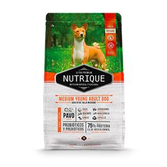 NUTRIQUE MEDIUM YOUNG ADULT DOG X 3KG