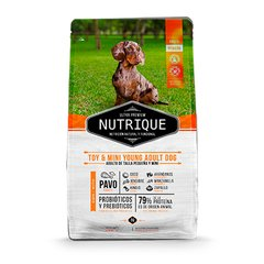NUTRIQUE TOY & MINI YOUNG ADULT DOG X 3KG