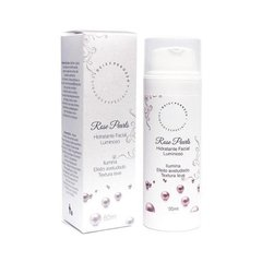 Hidratante Facial Luminoso Rose Pearls