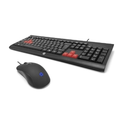 KIT GAMER TECLADO E MOUSE - HP KM100 - comprar online